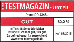 testmagazin - DOMO DO434BL
