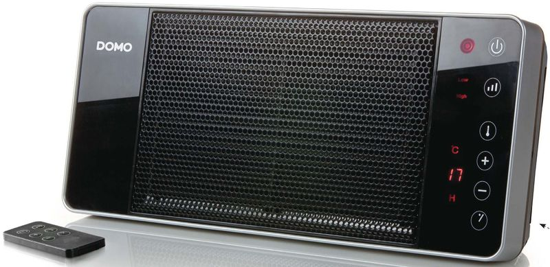 Závěsné keramické topení s ventilátorem - DOMO DO7341H