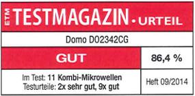 testmagazin - hodnocení - DOMO DO2342CG