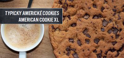 Americké cookies v pizza peci DOMO