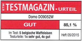 testmagazin - hodnocení DOMO DO9052W
