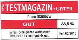 testmagazin - hodnocení - DOMO DO9057W