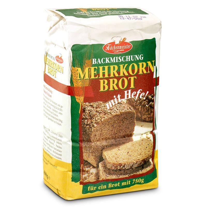 Küchenmeister směs na chleba - vícezrnný chléb 500g