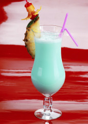 Plážový smoothie koktejl