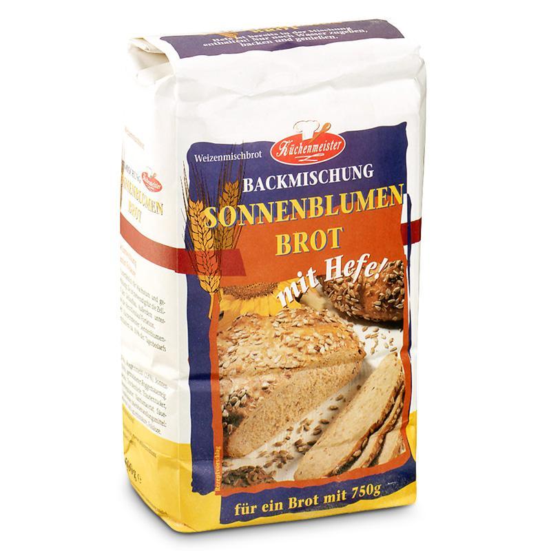 Küchenmeister směs na chleba - slunečnicový chléb 500g
