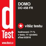 známka dTest - vítěz testu - DOMO DO458FR