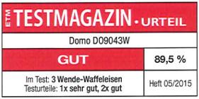 testmagazin - hodnocení DOMO DO9043W