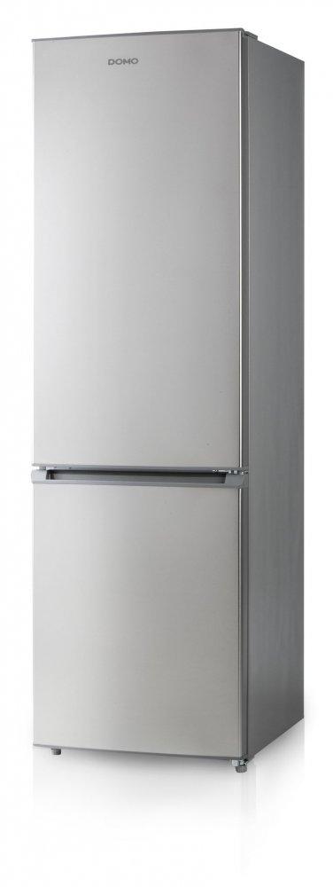 Lednice kombinovaná s mrazákem - stříbrná - DOMO DO927BFK