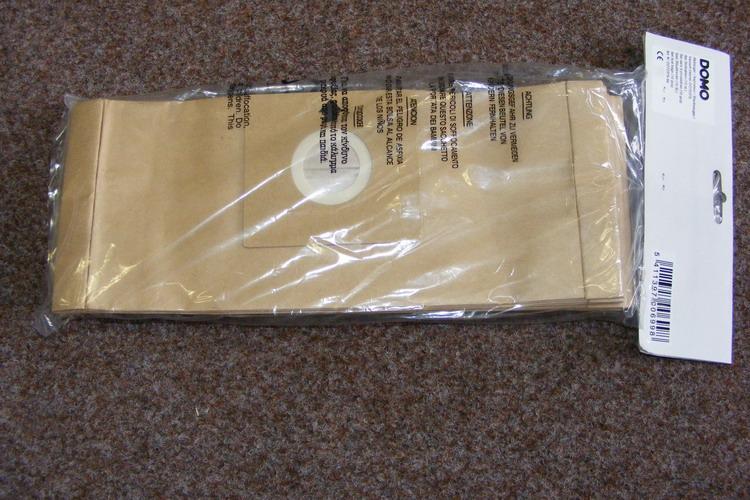 Sáčky pro vysavače DOMO - dlouhé (34,5 cm)