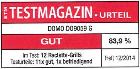 testmagazin - hodnocení - DOMO DO9059G