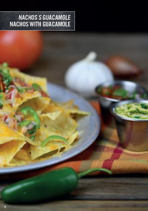 Nachos s Guacamole