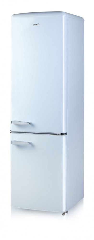 Retro lednice s mrazákem - modrá - DOMO DO982RKB
